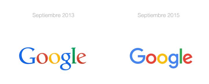 logo de google cambio